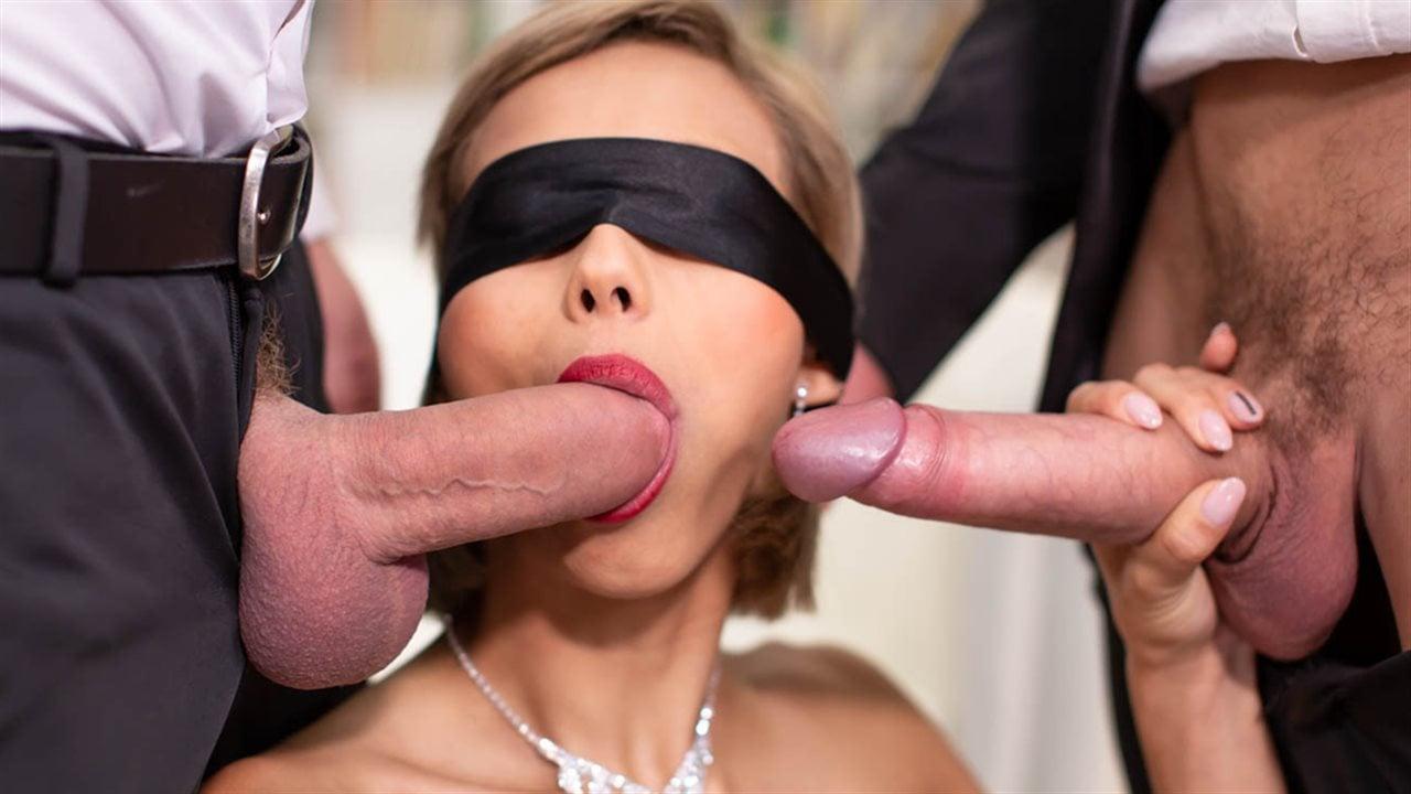 Завязав Глаза Секс Фото