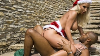 Aletta Ocean in 'Ho Ho Hoe See Santa's Sexy Helpers Aletta Ocean and Lara Amour'