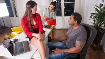 Alicia Poz in 'Alicia and Tiffany Take Care of the Boss'