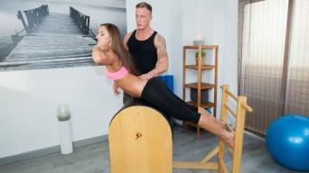 Amirah Adara in 'Takes Her Trainer's Cum in the Ass'