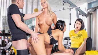 Ana Rose in 'Lady Dee, Anna Rose and Katy Sky fuck the trainer'