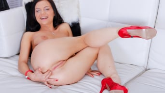 Anita Sparkle in 'Anal Queen Anita Uses All Holes to Make Her Man Cum'