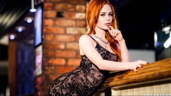 Ella Hughes in 'Gorgeous Redhaired Ella Hughes Shows Off'