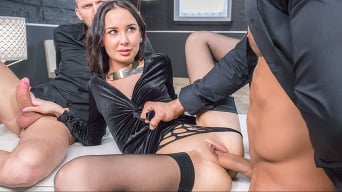 Freya Dee in 'Debuts with Extreme DP Threesome'