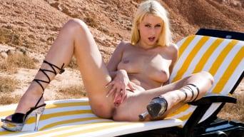 Julie Silver in 'Blonde Sensation Julie Silver Has Ass Gaping Anal Sex'