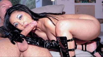 Mika Tan in 'Triple Threat, Deep Throat, Anal and Creampie'