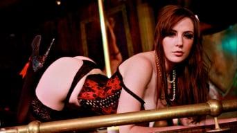 Samantha Bentley in 'Deep Throat Dancer Samantha Bentley Gives the VIP Treatment'